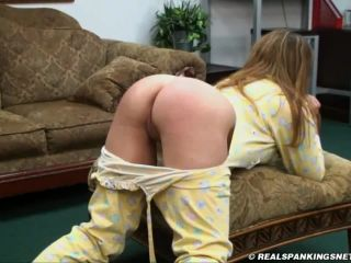 Adriana Spanked in DropSeat PJ&039;s-4