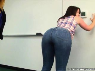 Reverie Paddled for Disrupting Class-8