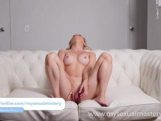 Shy blonde casting couch has crazyasm during her audition(porn)-3