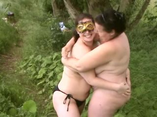 Lesbian water gs at the lake(porn)-6