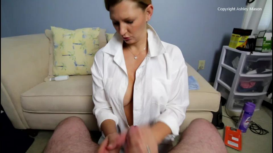 collared up hand job