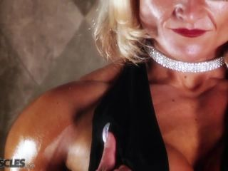 Brigita is a muscle worshiper dream come true-1