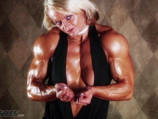 Brigita is a muscle worshiper dream come true-5