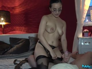 Afghan beauty gives forest blowjob-3