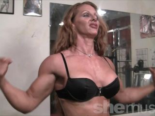 Sexy Muscle Goddess IronFire Shows Off Her Physique-0