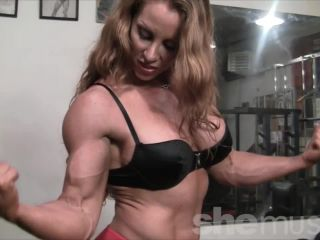 Sexy Muscle Goddess IronFire Shows Off Her Physique-2