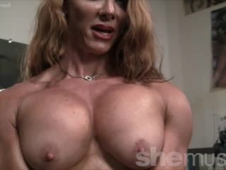 Sexy Muscle Goddess IronFire Shows Off Her Physique-3