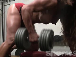 Sexy Muscle Goddess IronFire Shows Off Her Physique-7