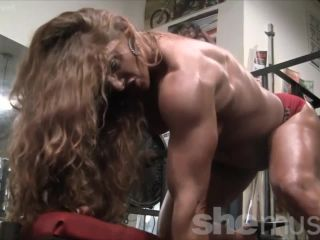 Sexy Muscle Goddess IronFire Shows Off Her Physique-9