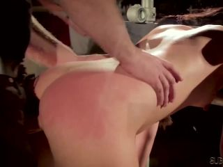 Tied up slave gets humiliated in bdsm sex!?-7