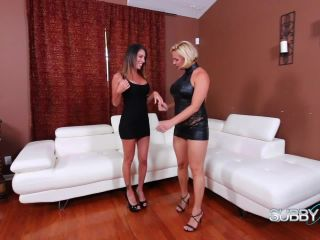 Dava and Brianna Bring Home Slaves Part 1: Spanking the pervert-5