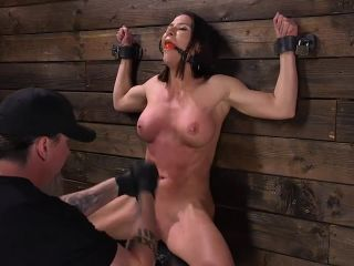 cle babe ariel x tormented in steel bondage and dp'd*-4
