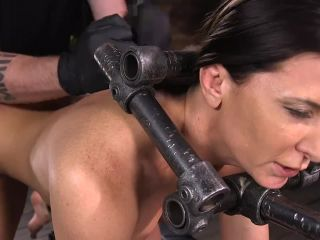 cle babe ariel x tormented in steel bondage and dp'd*-6