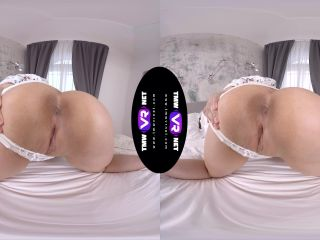 Nourishing morning solo orgasm - Sofia Lee Oculus Rift!!!-3