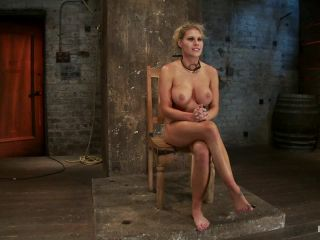 [Kink] Sexy blond bomb shell w/huge tits, is anally penetrated, nipple tormented, made to squirt & cum! - March 1, 2012-7
