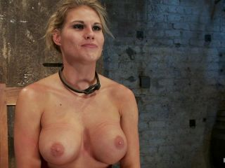 [Kink] Sexy blond bomb shell w/huge tits, is anally penetrated, nipple tormented, made to squirt & cum! - March 1, 2012-8