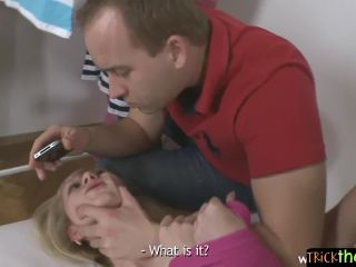 Blondessian doll punished for cheating-3